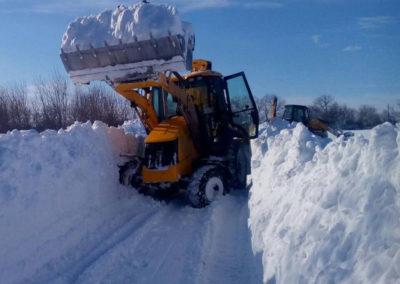 почистване на сняг - Одесосстрой ООД